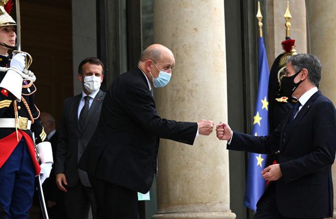 Krizin ardından Fransa'ya ABD ziyareti