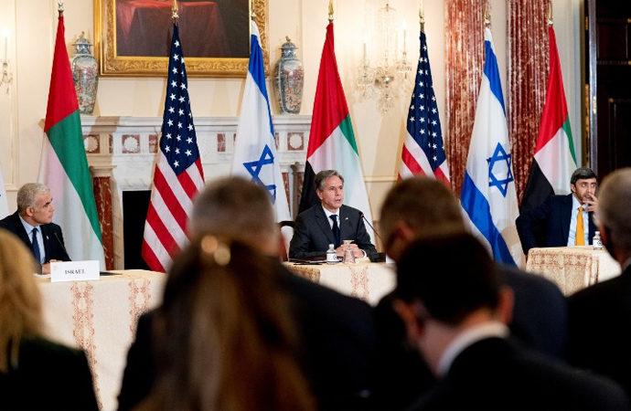 ABD'den Filistin ve Suriye Mesajları
