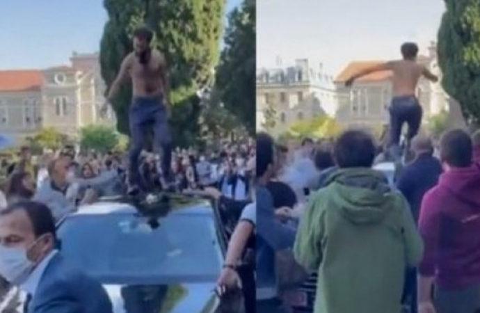 Boğaziçi Üniversitesi protestosuna 2 tutuklama