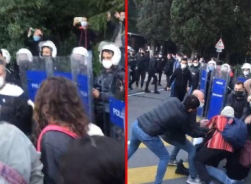 Boğaziçi Üniversitesi'nde 45 gözaltıdan 43'ü serbest