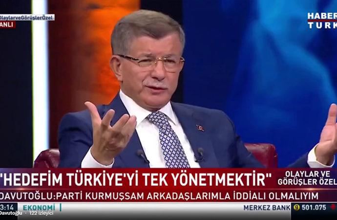 Davutoğlu: Türkiye'yi yeniden inşa edeceğiz