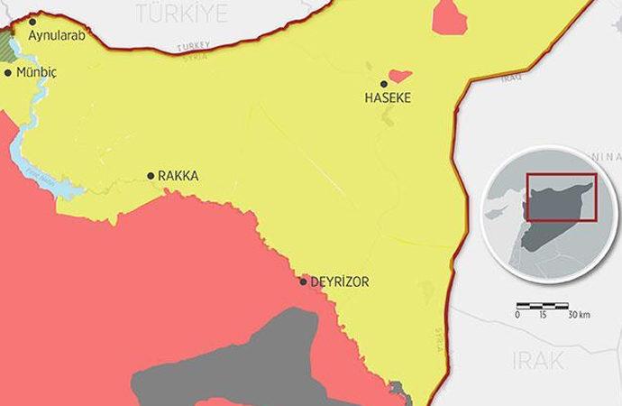 Suriye-Irak sınırındaki İran gruplarına saldırı