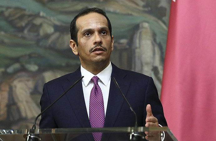 Katar: Orta Doğu'da barış sürecinde bir ufuk görülmüyor