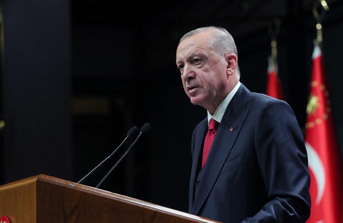 Erdoğan: 'En iddialı demokrasi projesi 2023 vizyonumuz'