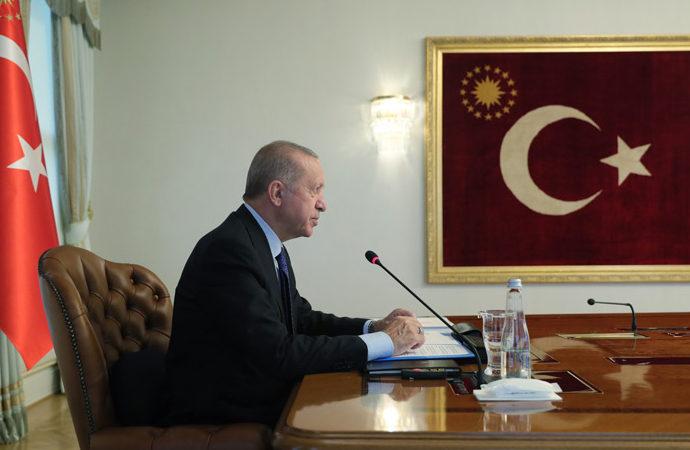 """Erdoğan'dan Ankara için """"demokrasinin merkezi"""" vurgusu"""