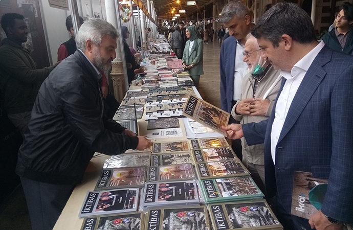 Sirkeci Garı'nda dergi fuarı devam ediyor