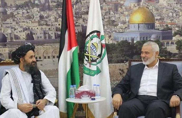 Hamas Taliban'dan Filistin'e destek istedi