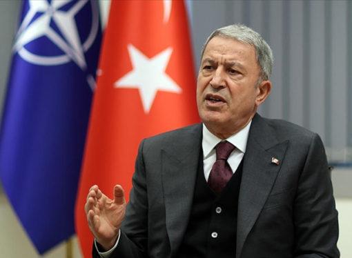 """Akar: """"Türkiye'nin bir yere gittiği yok, 70 yıldan beri biz NATO'nun şerefli bir üyesiyiz"""""""
