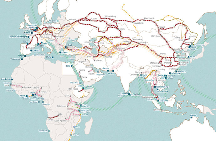 Çin'in Kuşak ve Yol inisiyatifi 9 trilyon dolar hacme yükseldi