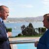 Merkel'den Türkiye'ye çalışma ziyareti