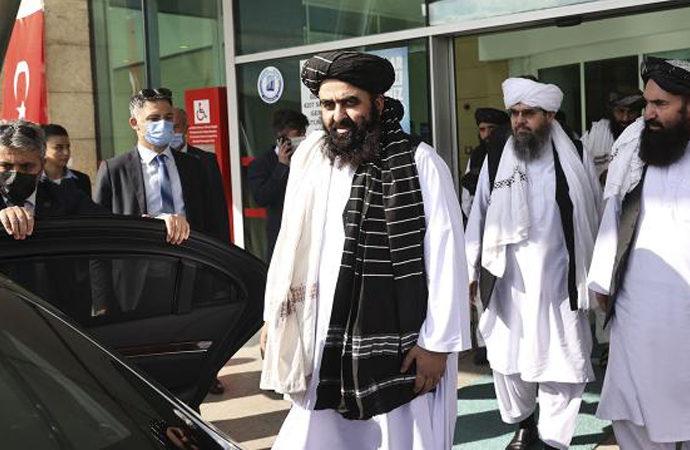 Taliban heyeti Türkiye'ye geldi